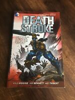 Death Stroke Vol 1 Legacy 2012 TPB DC Reader Copy Kyle Higgins Joe Bennett