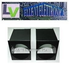 0409 MCA Coppia Box Per Altoparlanti Per Griglie Fiat Panda Young Colore NERO