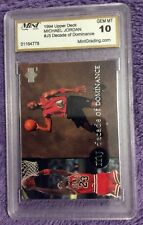 🏀 1994-95 Upper Deck Chicago Bulls #J5 Michael Jordan Chicago Bulls GEM MT 10