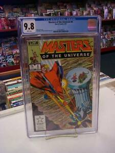 MASTERS of the UNIVERSE #6 (Marvel, 1987) CGC Graded 9.8! ~HE-MAN ~White Pages