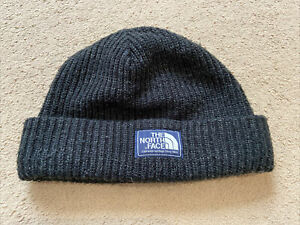 The NORTH FACE Salty Dog Mens Beanie, BRAND NEW, Colour Black, One Size, Cuffed