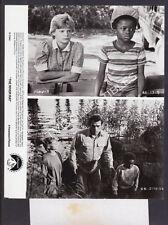 Press Photo~ THE RIVER RAT ~1984 ~Tommy Lee Jones ~Martha Plimpton ~Shawn Smith