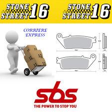 PASTIGLIE FRENO SBS 184 MS (SINTERIZZATA) HONDA SILVERWING 600cc 2005 POSTERIORE