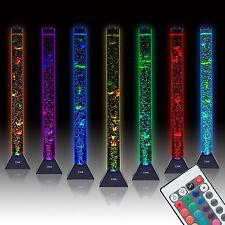Sensory Bubble Tube Floor Lamp Water Tower Tank is Best LED Aqua Night Light