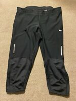 Women's Nike Dri Fit Running Capri Filament Leggings Compression Pants Small S
