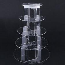 5 etages prsentoir gteau acrylique support stand mariage fte cupcake muffin - Presentoire Gateau Mariage