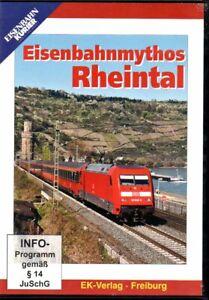 DVD Eisenbahn Kurier: Eisenbahnmythos Rheintal / 58 Min