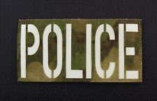 Large ATACS-FG Luminescent POLICE Patch County SWAT SERT