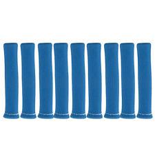 SET OF 8 X SPARK PLUG LEAD HEAT SHEILDS BLUE COLOR