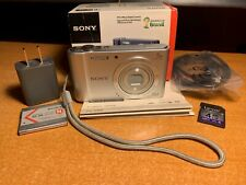 Sony Cybershot DSC-W800 20.1 MP Digital Camera + SD Card