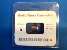 220819 5pcs 65a Nozzle Fits Hypertherm Plasma Powermax 65a Usa Free Shipping