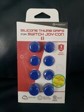 Hyperkin Silicone Blue Thumb Grips for Switch Joy Con