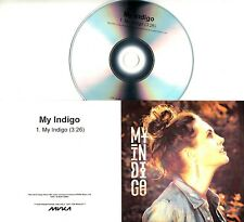 MY INDIGO My Indigo 2018 UK 1-trk promo test CD single Within Temptation