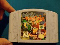 Banjo Kazooie Game Nintendo 64 N64 AUTHENTIC