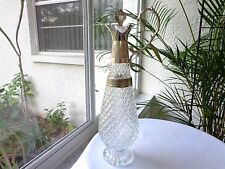 Antique Original Silverplate & Crystal Claret Jug with Stopper