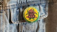 Essential Workers Guild Button 2.25 inch round