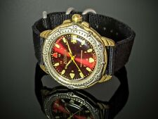 Vintage Vostok RED Dial USSR Watch Hand winding GREAT!
