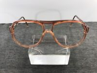Safilo Sunglasses 1048 1135 55-15-150 Pink Translucent Italy Flex Hinge A84
