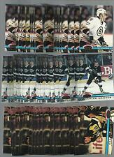 1991 STADIUM CLUB CHARTER MEMBER RAY BOURQUE MINT (LOT OF 25 FREE COMBINED S&H