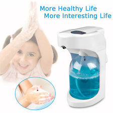 500ml Hands Free Automatic IR Sensor Touchless Soap Liquid Foaming Dispenser