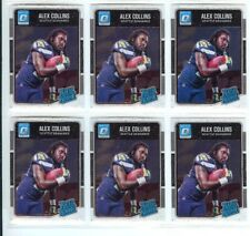 LOT OF 7 ALEX COLLINS 2016 DONRUSS OPTIC RATED ROOKIE RC #151 RAVENS SEAHAWKS