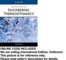 (Online CODE Included) Principles of Engineering Thermodynamics byJohn R. Reisel
