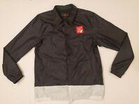 Nike AIR Jordan Legacy AJ 4 Men's Coaches Jacket Black CI0253 010 Sz M MSRP $125