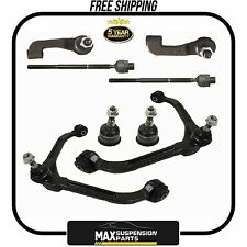 8 Pcs Kit Ball Joint Control Arm Tie Rod End for Jeep Liberty $5 YEARS WARRANTY$