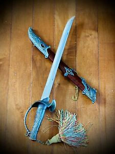 Dagger Chinese Stainless Steel 14 Inch Blade With Sheath.