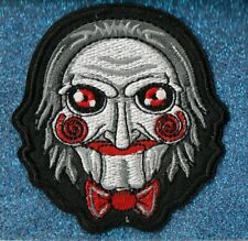 Billy the Puppet embroidery patch