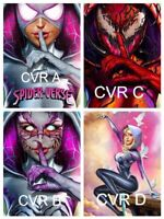 Spider-verse #1 Greg Horn variant 4 pack, Spider-Gwen, Hot! NYCC exclusives