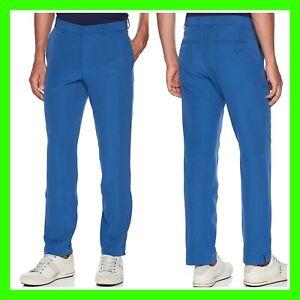 Nike Flex Hybrid Standard-Fit Blue Dri-Fit Golf Pants 921751-431  Mens 32 × 34