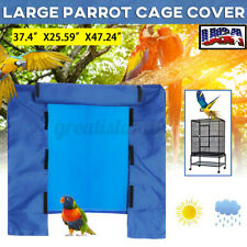 Waterproof Large Bird Cage Cover Parrot Canary Good Night House Protection Pet