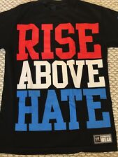 Authentic John Cena Rise Above Hate T-Shirt S Small WWE WWF Hustle Loyalty