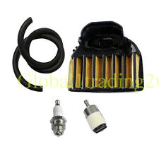 Air Fuel Line Filter Tune Up Kit For HUSQVARNA 455 455E 455 460 Rancher Chainsaw