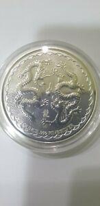 1oz 2018 New Zealand niue double dragon 999 silver coin