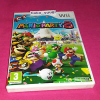 MARIO PARTY 8 NINTENDO WII NEUF SOUS BLISTER VERSION FRANCAISE