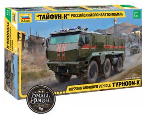 Typhoon-K, 6x6 Russian Armoured Vehicle, Zvezda ZV3701, Scale 1:35 NEW