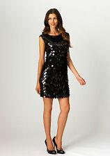 NWT MISOOK XL BLACK PAILLETTE SEQUIN  DRESS EXTRA LARGE  PARTY TIME!!!