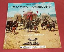 MICHEL STROGOFF   LP  JULES VERNE  FESTIVAL  DISQUE D'AVENTURE