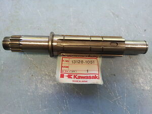 Kawasaki KZ750 LTD ZX750 GPZ 750 1983-1985 Transmission Shaft 13128-1051 NOS