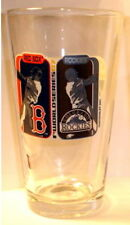 2007 WORLD SERIES PINT GLASS COLORADO ROCKIES V RED SOX