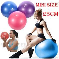 25cm Fitness Exercise Stability Balance Yoga Ball Yoga Pilates Anti Burst Pump