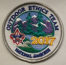 2017 National Jamboree BSA Outdoor Ethics Exhibit Limited Edition Donor Patch