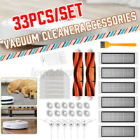 33Pcs Vacuum Cleaner Parts Sweeper Accessories Kit Cleaning Robot Accessories