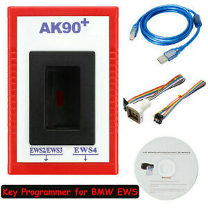 AK90 + Auto Keys Programmer  For All BMW Version V3.19 OBD2 EWS CAS Match Tool