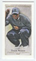 2016 Goodwin Champions CANVAS MINIS Tiger Woods  #53