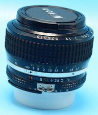 Nikon AI-S FX NIKKOR 50mm F/1.2 Lens  Exc+++++++W/Caps