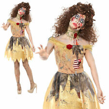 Zombie Belle Fairytale Costume Halloween Womens Ladies Fancy Dress Outfit Medium