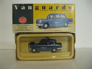 """1:43 Vangards Diecast Triumph Herald """"The Motor"""" in Original Box - BNiB"""